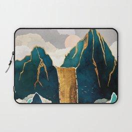 Golden Waterfall Laptop Sleeve