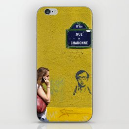 Woody's on a wall iPhone Skin
