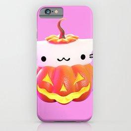 Pumpkin Cat iPhone Case