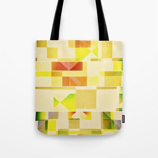 Deep Nature's Forlorn Cubic Dream Tote Bag