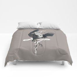 Anxiety (White Variant) Comforters