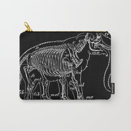 Elephant Skeleton | Zoo Animals Carry-All Pouch