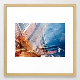 A Broad Ripple Tilt Framed Art Print