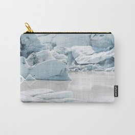 Icelandic lagoon in pastel blue Carry-All Pouch