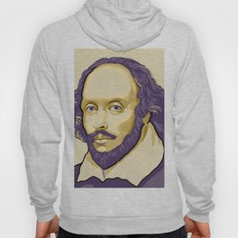 Shakespeare - royal purple and yellow Hoody