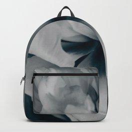 White peony 3 Backpack