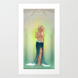 Greek Goddesses - Aphrodite Art Print