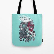 Dark Circusbot Tote Bag