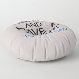 Saturday Night Live - Weekend Update Floor Pillow