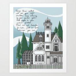 The Magic House Art Print