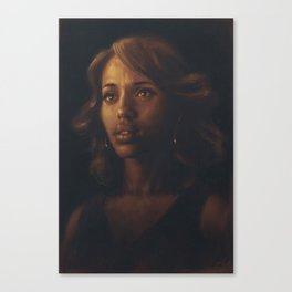 Kerry Washington Canvas Print