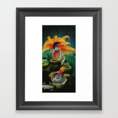 All The Colors Of The Deep Framed Art Print