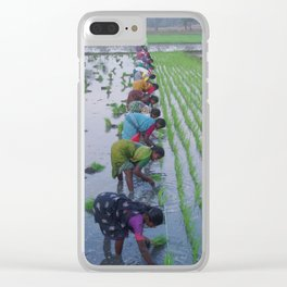 Colour In The Paddy Clear iPhone Case