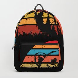 Dad Daughter Family Father's Day Backpack