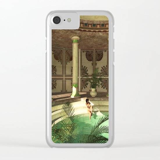 Greek bath beauties Clear iPhone Case
