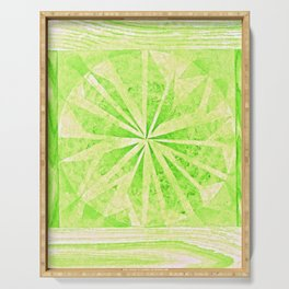 Color Project No. 11 Permanent Green Light Serving Tray