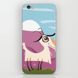 billy goat gruff iPhone Skin
