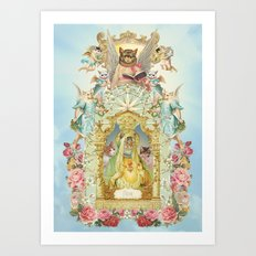 Holy cats! Art Print