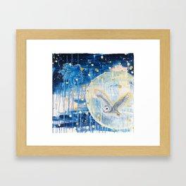 The First Full Moon Framed Art Print