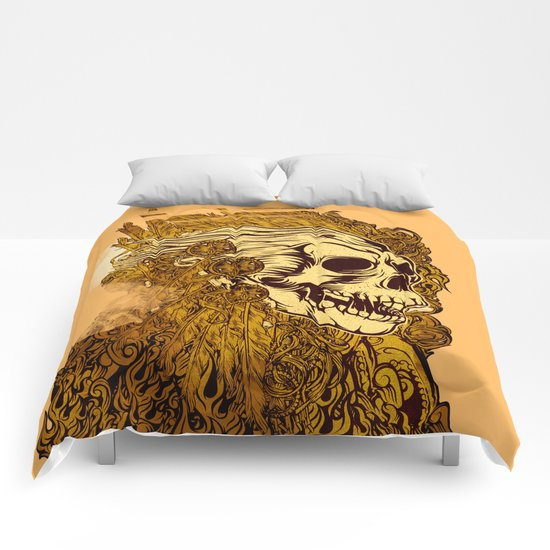 SKULLION Comforters