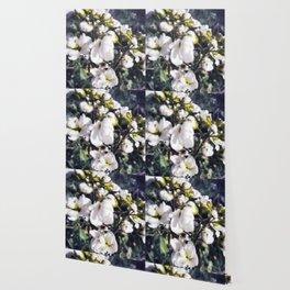 White puddles Wallpaper