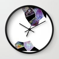 geology Wall Clocks featuring Geology by michiko_design