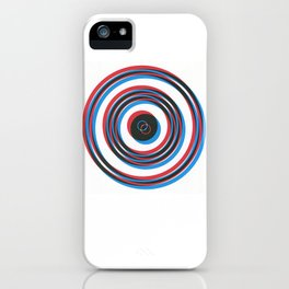 overlapping waves iPhone Case