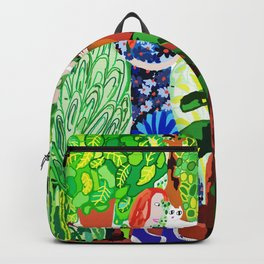 Summer Cat Backpack