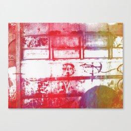Abandoned Bus Canvas Print