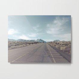 All roads lead to adventure Metal Print