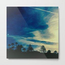 A Painter's Sky Metal Print