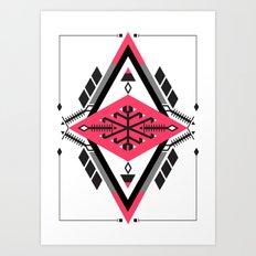 :::Space Rug2::: Art Print