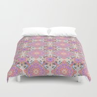 moroccan Duvet Covers featuring Faded Moroccan by k_c_s