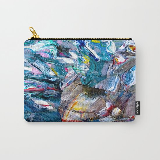 Marble Beach Side Carry-All Pouch