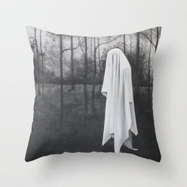 ghost VI Throw Pillow
