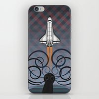 gravity iPhone & iPod Skins featuring Gravity by milanova