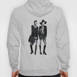 Fashion illustra Hoody
