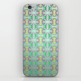 Softly colorful classic pattern ... iPhone Skin