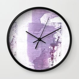 Gently violet abstract Wall Clock