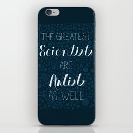 Art and Science iPhone Skin