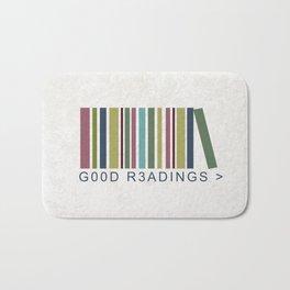 Good Readings are priceless Bath Mat