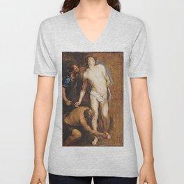 Anthony van Dyck - Study for the Martyrdom of Saint Sebastian Unisex V-Neck