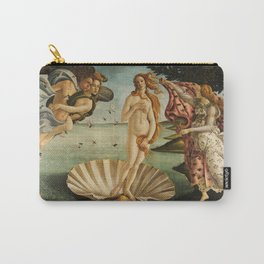 The Birth of Venus (Nascita di Venere) by Sandro Botticelli Carry-All Pouch