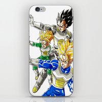 vegeta iPhone & iPod Skins featuring vegeta family tree by Unic art