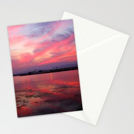 Sunset in Oman Stationery Cards