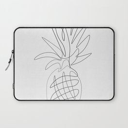 One Line Pineapple Laptop Sleeve