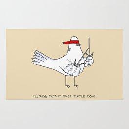 Teenage Mutant Ninja Turtle Dove Rug