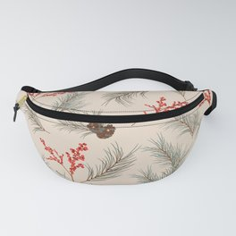 Winter forest pattern 2a Fanny Pack