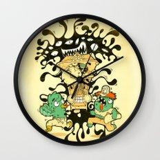 Clockwork parasite Wall Clock