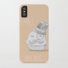 british muffin Slim Case iPhone X